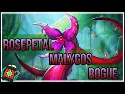 hearthstone deck tech rose petal malygos rogue journey to un