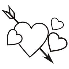 Black and White Valentine s Day Christmas sugar cookie clip art
