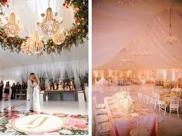 Chandeliers Are Probably The Most Traditional Method Of Ceiling Decoration For Luxurious Weddings Hanging With Accents Like Drapes
