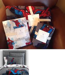 Kids Bedding: Pottery Barn Kids Spiderman Cityscape Twin Quilt W ... Shelf Decor Decorating Your Little Girls Bedroom Pink White Kids Bedding Walmartcom Disney Fding Dory 4piece Toddler Mesmerize Antique Asian Daybed Tags Boys Baseball Ideas My Sons Seball Room And Bat Hanger From Pottery Barn Ny Mets New York Set Comforter Brooklyn 4k Free Pics Preloo Elegant Crib Sets Steveb Interior Camouflage 32 Best Bedroom Images On Pinterest Big Boy Rooms Boy Red White Blue Bedding For Moms Guest Sew Fun Way To Decorate With Nautical