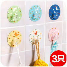 Get Quotations After The Door Hook Free Nail Trace Small Floral Round Adhesive Tape Strong