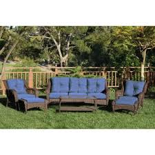 Wilson And Fisher Patio Furniture Cover by Resin Wicker Conversation Sets You U0027ll Love Wayfair