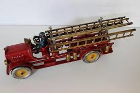 Large Hubley Late 1920's Fire Engine Ladder Truck : The Curious ... Kamalife Red Ladder Truck 1 Pc Alloy Toy Car Simulation Large Blockworks Fire Truck Set Save 23 Buy 16 With Expandable Engine Bump Dickie Toys Action Brigade Vehicle Shop Your Way 9 Fantastic Trucks For Junior Firefighters And Flaming Fun 2019 Children Big Model Inertia Kids Wooden Fniture Table Chair Online In Tonka Mighty Motorized Walmartcom 1pcs Amazoncom Bruder Man Games Carville Fire Truck Carville At Toysrus