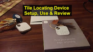 tile inc location device how to setup use and review key