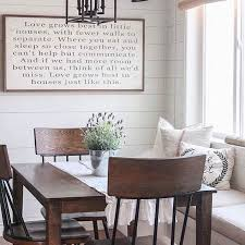 Endearing Rustic Dining Room Wall Decor With Interesting Find This Pin And More