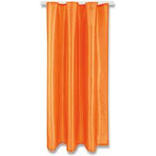 gardine alessia blickdicht mit kräuselband maße 140x245cm farbe orange