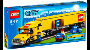 100 Lego City Truck 3221 Stop Motion YouTube