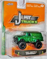 Buy JADA JUST TRUCKS 1:64 SCALE 2014 WAVE 2 GREEN WITH FLAMES 1957 ...