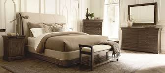 North Shore Sleigh Bedroom Set by St Germain Upholstered Sleigh Bedroom Set From Art Coleman