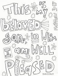 Splendid Design Baptism Of Jesus Coloring Page Jesus Is Baptized