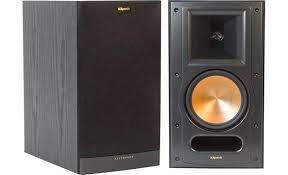 Klipsch Reference RB 61 II Black Ash Bookshelf speakers at