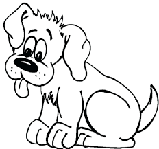 Coloring Sheets Of Dogs Printables Pages Printable Page Dog House Full Size