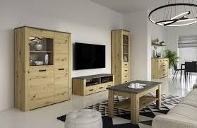 wohnzimmer komplett set a talimatau 5 teilig farbe eiche grau