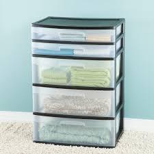 Sterilite 4 Drawer Cabinet 2 Pack by Sterilite 5 Drawer Wide Tower Walmart Com