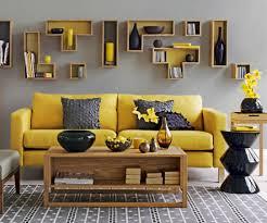 Living Room Gray Design Yellow Ideas Painting Grey