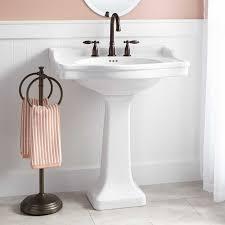 Kohler Memoirs Pedestal Sink 24 by Bathroom Pedestal Sink Lowes Kitchen Black Sink And 12 Lowes