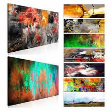 details zu leinwand deko bilder abstrakt modern wandbild wohnzimmer kunstdruck 12 motiv