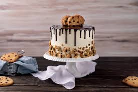 cookie torte mit pflaume chocolate chip cookie cake
