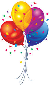 Happy Birthday Balloons Clipart Clipart Suggest