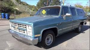 100 Suburban Truck Driving School 1985 Chevrolet Youngtimer Custom Deluxe 20 Scottsdale SUV