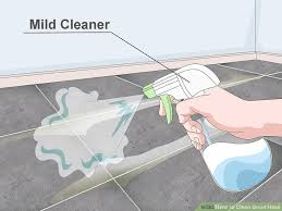 Removing Grout Haze From Porcelain Tile by 3 Ways To Clean Grout Haze Wikihow