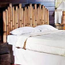 Bamboo Headboards For Beds by Bed With Hand Tied Bamboo Headboard This Is A Contemporary