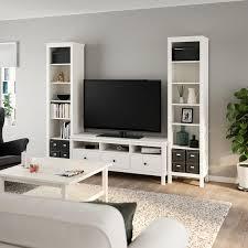 hemnes tv möbel kombination weiß gebeizt ikea schweiz