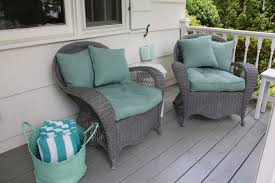 Painting Wicker Furniture Patio — JESSICA Color Great Painting