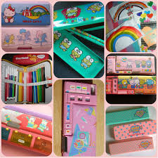It Was All About The Pencil Casea Montage Of 80s Pencil Cases A