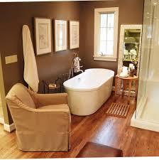 Narrow Bathroom Ideas With Tub by 23 Brown Bathroom Designs Decorating Ideas Design Trends