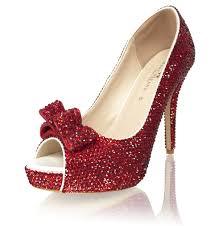 wizard of oz dorothy u0027s ruby red crystal luxury heels