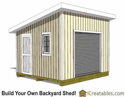 10x14 Garden Shed Plans by 14x14 Shed Plans Build A Large Storage Shed Diy Shed Designs