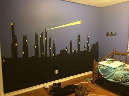 decorating batman room decor batman wall mural spiderman