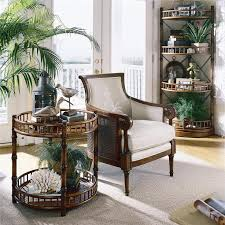 Tropical Coastal Living Room Details Great Looking Side Table Made With Bamboo