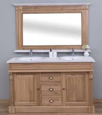 casa padrino landhausstil badezimmer set braun weiß 1 doppelwaschtisch 2 waschbecken 2 wasserhähne 1 wandspiegel massivholz