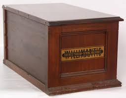 willimantic walnut 4 dwr spool cabinet