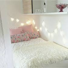 bedroom fairy lights interior room decor teen room tumblr