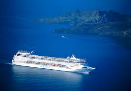 Cruise Ship Sinking Santorini by High Quality Stock Photos Of