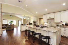 recessed lighting vaulted ceiling kitchen trendyexaminer