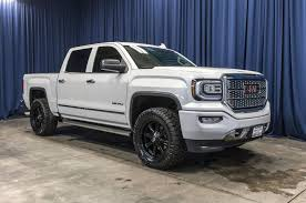 Used Lifted 2017 GMC Sierra 1500 Denali 4x4 Truck For Sale 45012 ...