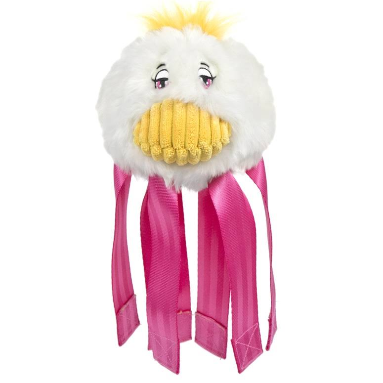 Hugglehounds Seat Belt Duck Dog Toy