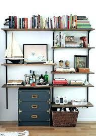 Ikea Desk And Bookshelf Office Shelving Shelf Wall Units Marvellous Unit