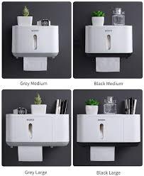 papierhandtuchspender ohne bohren für badezimmer