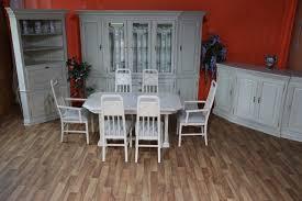 nr 1466 selva esszimmer vitrine eckvitrine esstisch 6 stühle eiche