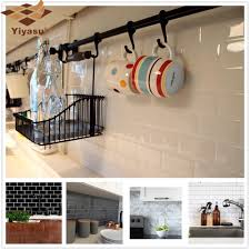 u bahn fliesen selbst klebe tapete backsplash 3d aufkleber vinyl badezimmer küche home decor diy