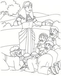 Joseph And His Brothers Coloring Page New Bible Story Pages