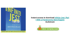 Infinite Jest by David Foster Wallace audiobooks on iphone