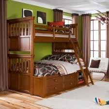 bunk bed with stairs and slide foter
