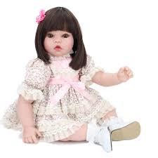 Lifelike Toddler Reborn Baby Dolls 24 Cute Princess Girl Doll Gift