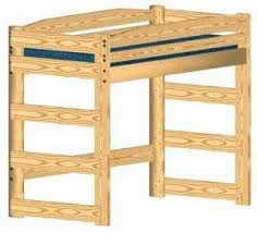 pdf woodwork full size loft bed plans free download diy plans